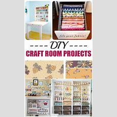 10 Diy Craft Room Projects  Picky Stitch
