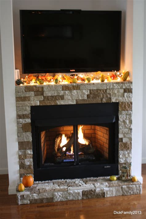 Our Fireplace Was Built By My Husband Our Stone Is Called