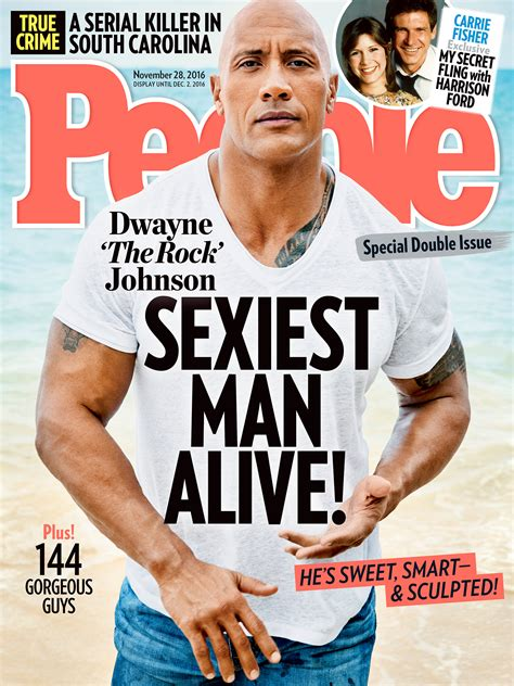 'The Rock' is People Magazine's Sexiest Man Alive for 2016 ...