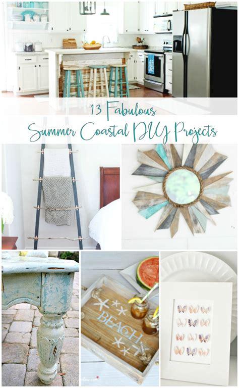 diy coastal decor projects    summer