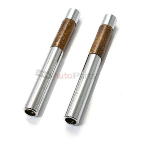 car door lock knobs 2 chrome walnut wood interior door lock knobs pins for car