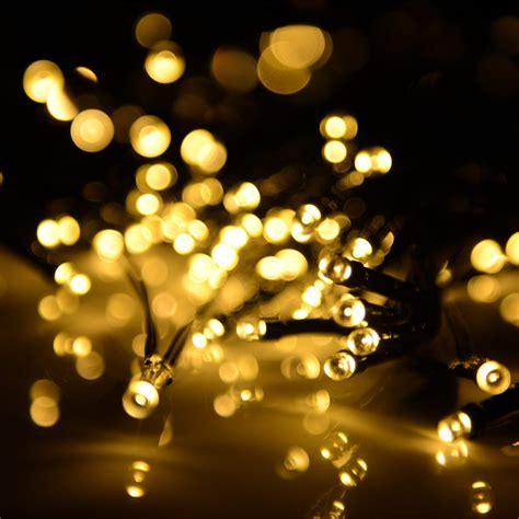 Weihnachtsdeko Garten Solar by Solar Lichterkette Kette Weihnachten Garten Au 223 En