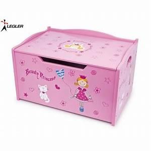 Coffre Jouet Bois : coffre jouets princesse en bois ~ Teatrodelosmanantiales.com Idées de Décoration