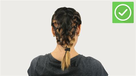 dutch braid  pictures wikihow