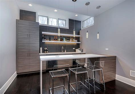 Contemporary Bar Ideas by 50 Modern Basement Ideas To Prompt Your Own Remodel Home