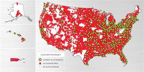Verizon LTE Coverage map - 4G Network | 3gLteInfo