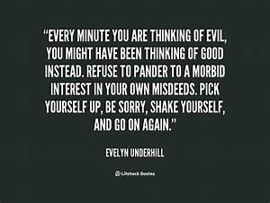 Evil Thoughts Q... Evil Thought Quotes