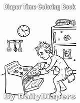 Diaper Drawing Coloring Diapers Adult Teen Adults Comics Getdrawings Gemerkt Von sketch template