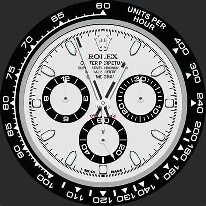 Apple Face Rolex Faces Clock Daytona Watchfaces