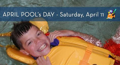 April Pool's Day Coming April 11 To Lynnwood Recreation