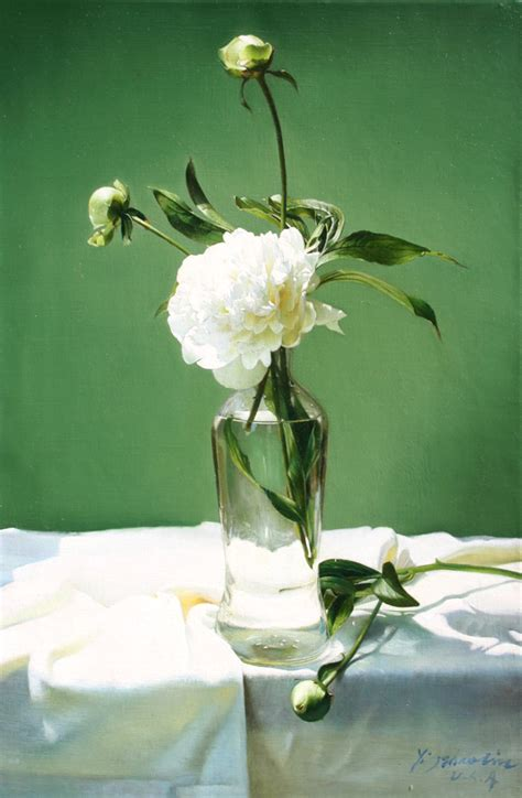 yingzhao liu artist chinese realism  life oil