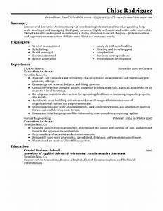 best executive assistant resume example livecareer With executive assistant resume samples