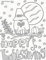 Coloring Thanksgiving Pages Sheets Printable Kindergarten Birthday Happy Doodle Alley Turkey Crafts Activity Parties Everfreecoloring Printables Fun Dot Word sketch template