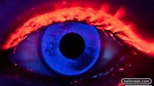 Blacklight UV Makeup Tutorial - YouTube