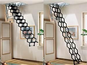 Escalier Escamotable Grenier : mod les d 39 escalier escamotable pour votre design d ~ Melissatoandfro.com Idées de Décoration