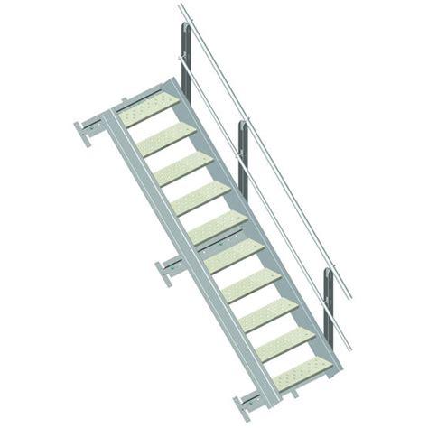 escalier aluminium en kit somain