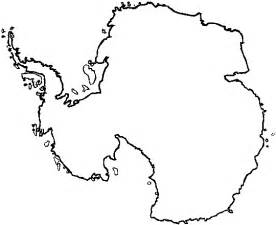Antarctica Map Outline