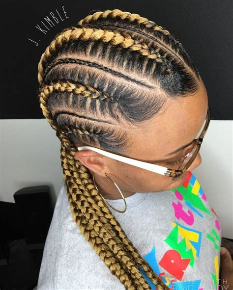 Pictures Of Cornrow Hairstyles For by Push Back Cornrow Braids Hairstyle Your Hairdresser Would