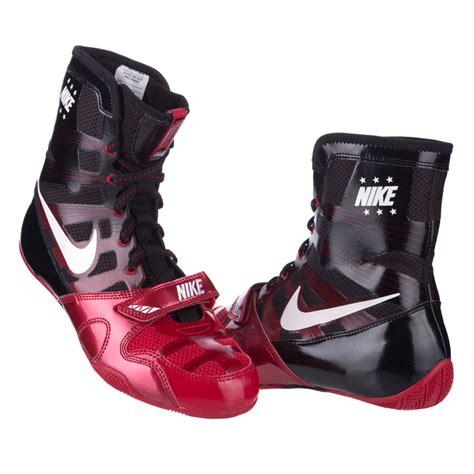 Boxing Shoes Nike HyperKO - black/red - Fighters-Europe.com