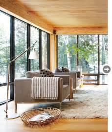 scandinavian livingroom interior sleek modern cottage style at home
