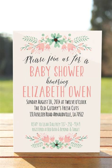baby shower invitation wording 25 best ideas about baby shower invitations on
