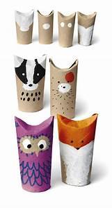 Objet En Carton Facile A Faire : comment recycler le rouleau de papier toilette id es originales ~ Melissatoandfro.com Idées de Décoration