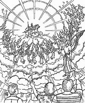 HD Wallpapers Coloring Page Jesus Second Coming