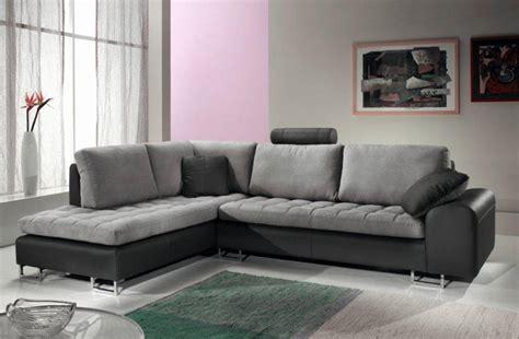 salon avec canapé d angle canapé d 39 angle design en cuir afl literie