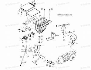 Polaris Atv 2018 Oem Parts Diagram For Engine  Air Intake