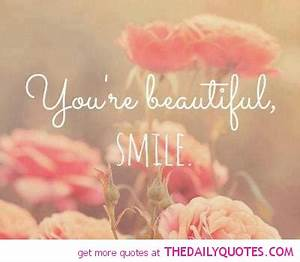 Beautiful Smile Quotes. QuotesGram