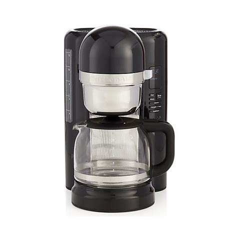 To maintain the best performance, the coffee maker should be descaled whenever the water filter icon appears. KitchenAid 12 Cup Drip Coffee Maker Empire Red 5KCM1209BER | Harts of Stur
