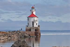 Wisconsin Point Lighthouse Lake Superior