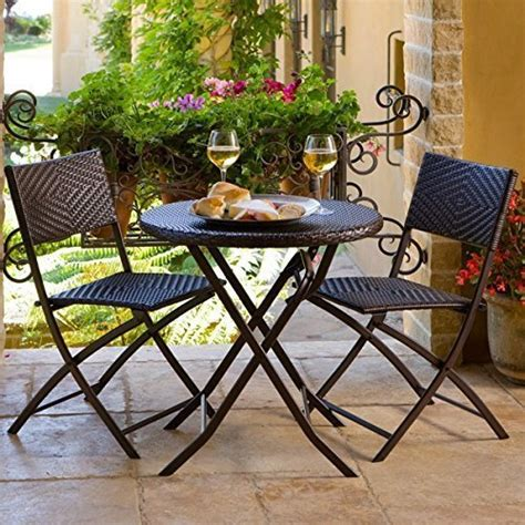 Small Outside Table And Chairs by Best Folding Outdoor Patio Bistro Sets Reviews