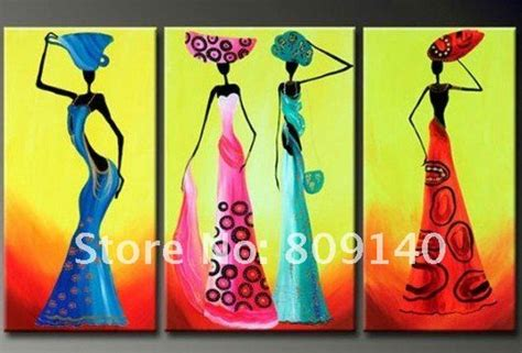 african abstract paintings  canvas oil painting