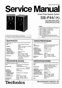 Technics Sb-f44    K
