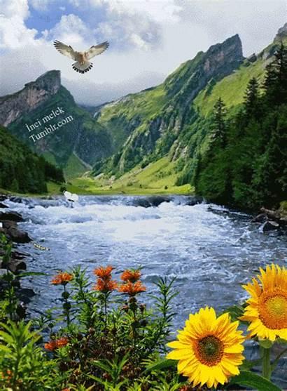 Nature River Google Mont Plus Waterfalls Places