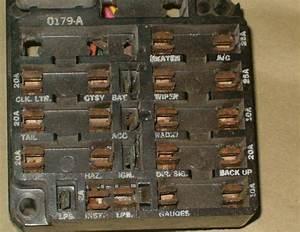 1969 Ss Fuse Panel