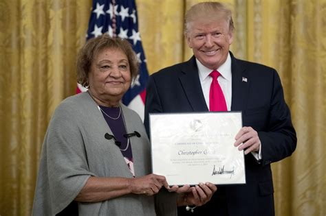 Man Recognized Trump For His Bravery During The