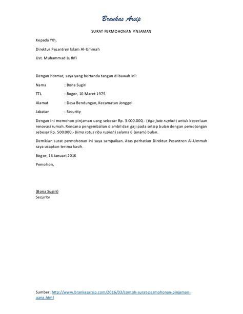 contoh surat kuasa tambah daya pln def contoh