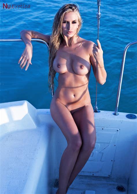 Evelin Aubert Nude On A Boat