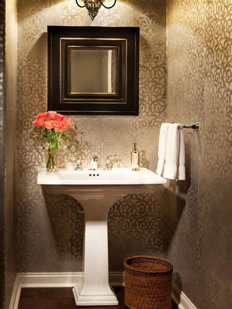 Wallpaper For Bathrooms Ideas by 17 Best Ideas About Small Bathroom Wallpaper On