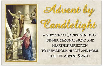 Advent Candlelight Circle Sisters Event Catholic Church