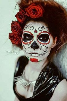 day   dead face painting images sugar skull