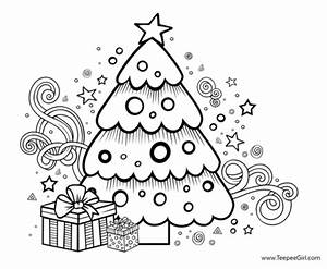 7 Free Christmas Coloring Pages