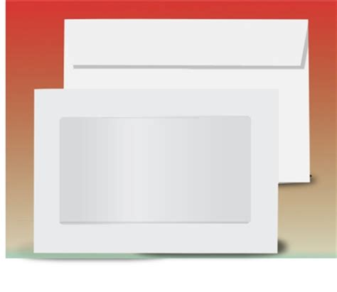 window envelope 9x12 view window envelope