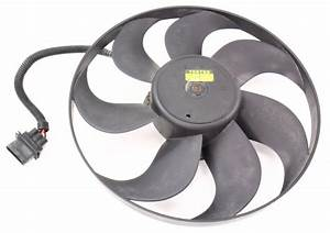 Lh Electric Cooling Fan Motor 98-05 Vw Beetle