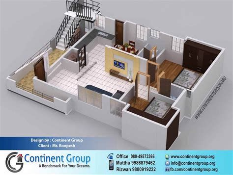 Buying a house is largely a lottery. Project Gallery-Building elevation-3d floor plan-Interior ...