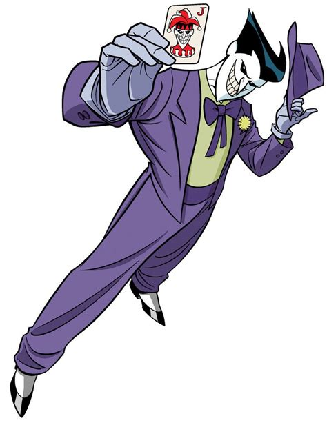 draw dc villains  joker  timlevins