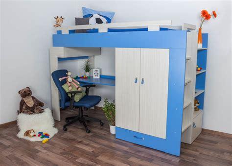 Kinderbett / Hochbett Mit Bettkasten Und