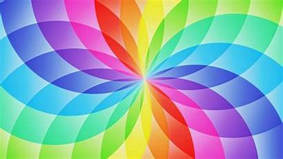 Rainbow Desktop Background Backgrounds Wallpapers Designs Circles